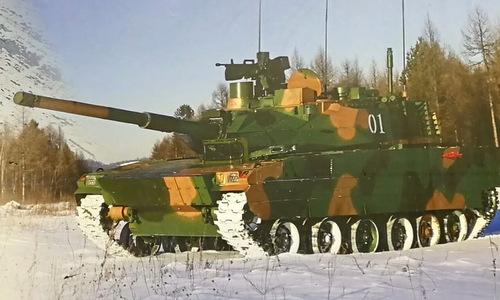 Nguyên mẫu xe tăng hạng nhẹ Type 15 trong quá trình thử nghiệm. Ảnh: Norinco.