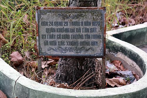 Nơi tập đoàn Khmer Đỏ xác hại 11 thầy côrồi ném xuống giếng tạitrường Tiểu học Tân Thành,cạnh Quốc lộ 22B, xã Tân Lập, huyện Tân Biên, Tây Ninh. Ảnh: Phước Tuấn.