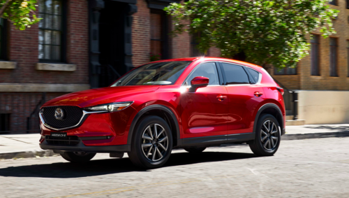 CX-5 là mẫu CUV được ưa chuộng của thương hiệu Mazda.