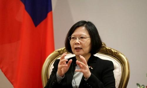 Lãnh đạo Đài Loan Thái Anh Văn. Ảnh: Reuters.