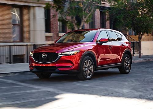 Mazda CX-5 chiếm phần lớn doanh số hãng xe Nhật tại Mỹ. Ảnh: Famivartino
