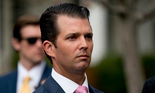 Donald Trump Jr., con trai cả của Tổng thống Mỹ Donald Trump. Ảnh: AAP.