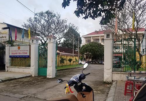 Trụ sở Thanh tra tỉnh Quảng Nam, nơi ông Nghị công tác. Ảnh: Đắc Thành.