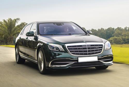 Linh kiện nhập khẩu của nhiều xe sang như Mercedes đang phải chờ.