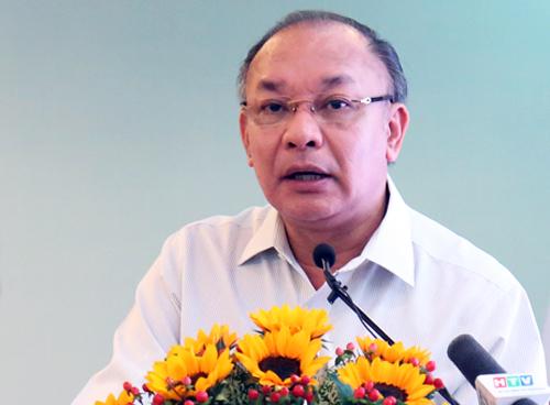 Trung tướng Lê Đông Phong, Giám đốc Công an TP HCM. Ảnh: Hữu Nguyên