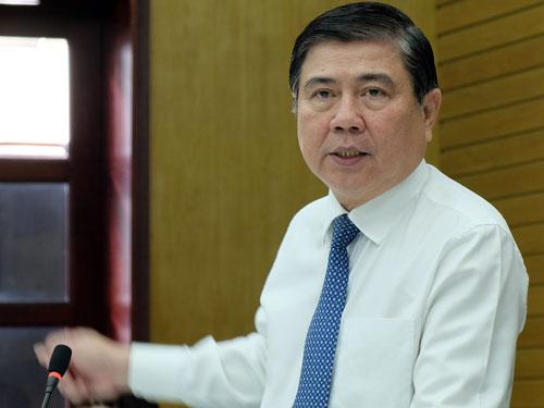 Chủ tịch UBND TP HCM Nguyễn Thành Phong. Ảnh: Mạnh Tùng.