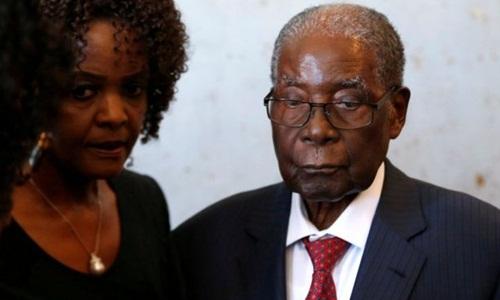 Cựu tổng thống Zimbabwe Robert Mugabe. Ảnh: Reuters.