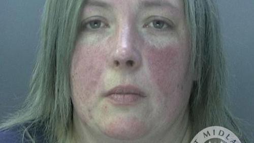 Là cai ngục, nhưng Gemma Farr có quan hệ tình cảm với tù nhân. Ảnh: West Midlands Police.