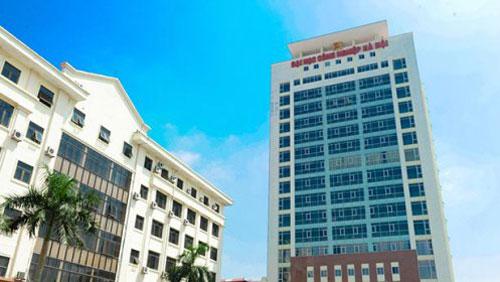 Trường Đại học Công nghiệp Hà Nội.