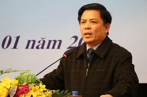 Bộ trưởng Giao thông Vận tải Nguyễn Văn Thể. Ảnh: Xuân Hoa.
