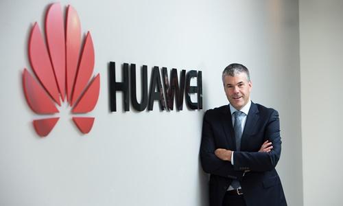 Phó chủ tịch Huawei Canada Scott Bradley. Ảnh: CNBC.