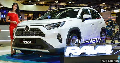 Toyota RAV4 2019 đầu tiên ra mắt Đông Nam Á tại Triền lãm ôtô Singapore 2019.