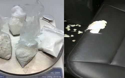 Nghi phạm Mỹ cắn rách ghế xe cảnh sát khi chống cự bất thành - ảnh 1