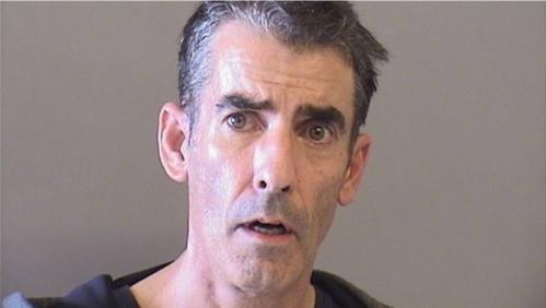 Brian Johnson cho biết mình bị thách đố khỏa thân vào tòa án. Ảnh: Tulsa County Jail.