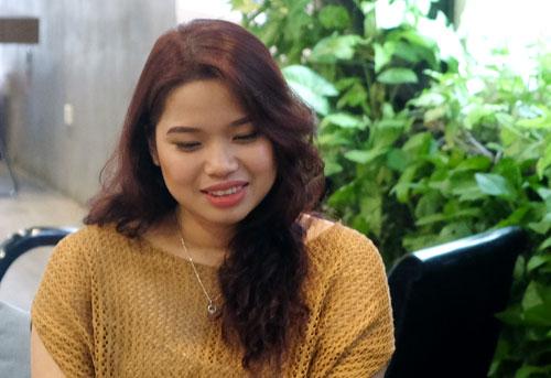 Nguyễn Thị Ngọc Minh, sinh viên Đại học Macquarie (Australia). Ảnh: Quỳnh Trang.