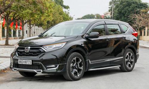 Honda CR-V chạy thử hồi đầu năm 2018. Ảnh: Đức Huy.