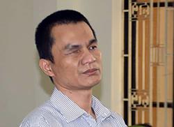 Bị cáo Kim Thành Hưng tại phiên toà. Ảnh: Công an Trà Vinh