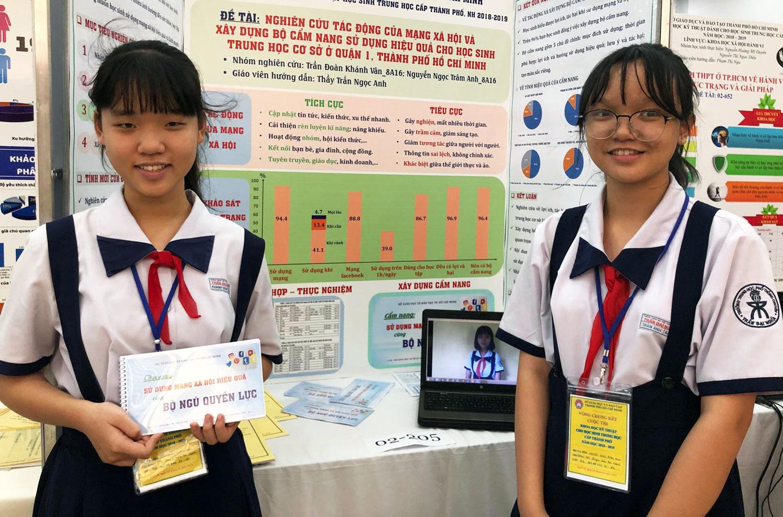 33 đề tài khoa học kỹ thuật ở TP HCM vào chung kết quốc gia