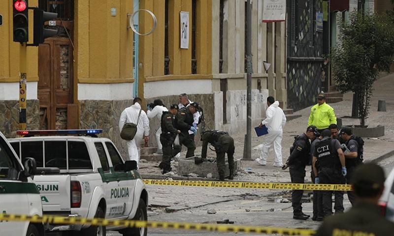 Đánh bom học viện cảnh sát Colombia, ít nhất 8 người chết