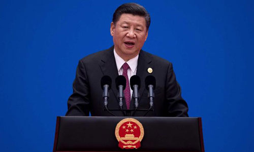 Chủ tịch Trung Quốc Tập Cận Bình. Ảnh: Reuters.