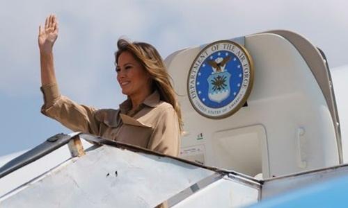 Melania Trump dùng máy bay công đi nghỉ dù chính phủ đóng cửa -