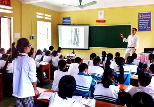 Hội thi giáo viên giỏi tỉnh Bắc Kạn. Ảnh: Báo Bắc Kạn.