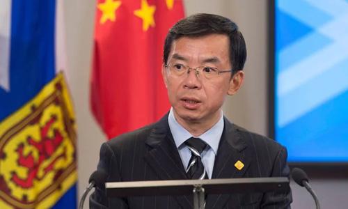 Đại sứ Trung Quốc tại Canada Lô Sa Dã. Ảnh: The Canadian Press.