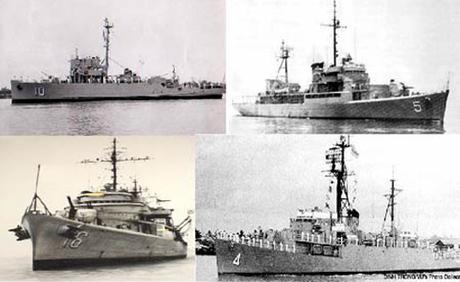Chiến hạm Việt Nam Cộng hoà tham gia hải chiến Hoàng Sa 1974.