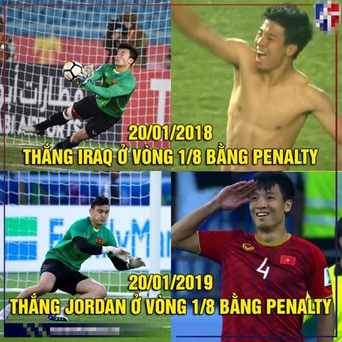Ảnh chế Việt Nam đánh bại Jordan vào tứ kết Asian Cup - page 2