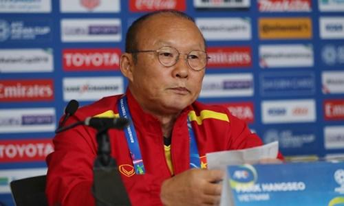 Huấn luyện viên Park Hang-seo. Ảnh: Văn Lộc.