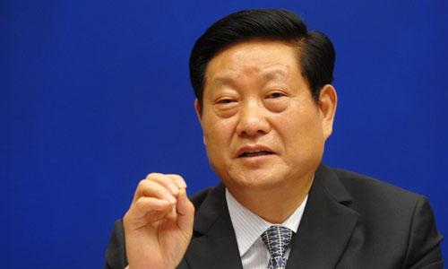 Cựu bí thư tỉnh ủy Thiểm Tây Triệu Chính Vĩnh. Ảnh: ChinaNews.