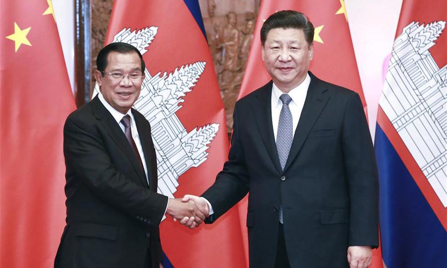 Trung Quốc cam kết viện trợ gần 600 triệu USD cho Campuchia