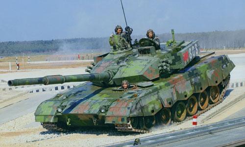 Xe tăng Trung Quốc thua thảm trong tập trận vì chiến thuật lạc hậu