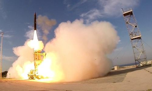 Tên lửa Israel có thể đánh chặn mục tiêu ngoài vũ trụ