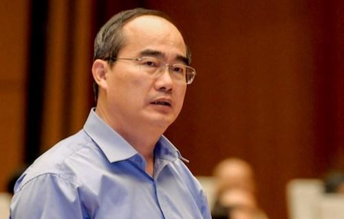 Bí thư TP HCM Nguyễn Thiện Nhân. Ảnh: Trung tâm báo chí QH