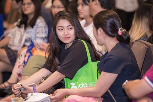 Ngày hội du học Úc của IDP thu hút sự quan tâm của đông đảo phụ Huynh và học sinh