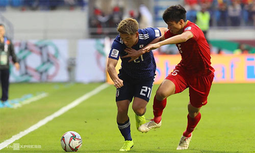 Khán giả thế giới khâm phục trận đấu quả cảm của Việt Nam trước Nhật Bản