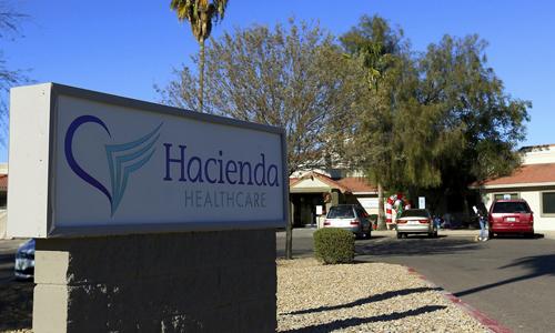 Trung tâm Hacienda Health Care ở thành phố Phoenix, bang Arizona, Mỹ. Ảnh: HuffPost.
