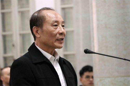 Cựu phó tổng cục trưởng Tổng cục V Phan Hữu Tuấn. Ảnh: TTXVN.