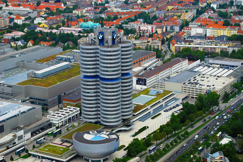Trụ sở của BMW ở thành phố Munich, bang Bayern (Bavaria), Đức.