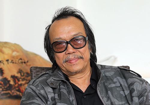 Nghệ nhân Lê Nguyên Vỹ. Ảnh: Nguyễn Đông.
