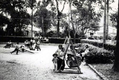 Công viên Tao Đàn trước năm 1975. Ảnh tư liệu