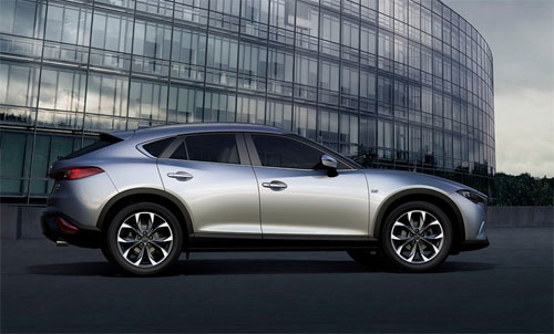 Mazda CX-4 đời 2017.
