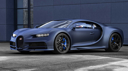 Bugatti Chiron Sport 110 Ans Edition - bản mừng sinh nhật