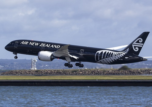Một máy bay của Air New Zealand. Ảnh: nzbusinesstraveller.