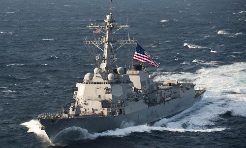 Tàu khu trục USS McCampbell của hải quân Mỹ. Ảnh: Wikipedia.