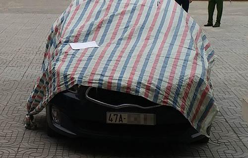 Chiếc xe trong vụ án.