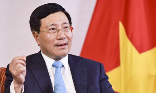 Phó thủ tướng Phạm Bình Minh. Ảnh: TGVN.