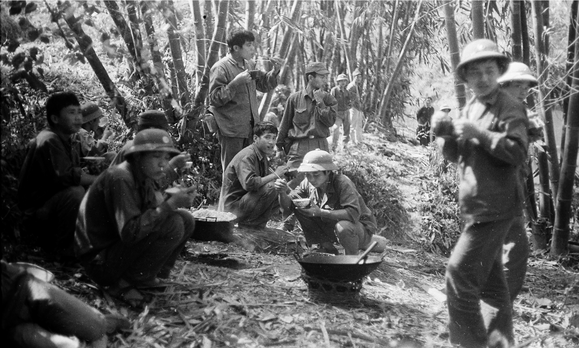 Bộ đội Việt Nam trên chiến trường biên giới, 1979.