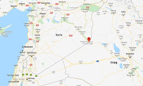 Liên quân Mỹ dội bom xuống nhà thờ Syria bị IS biến thành căn cứ - ảnh 2